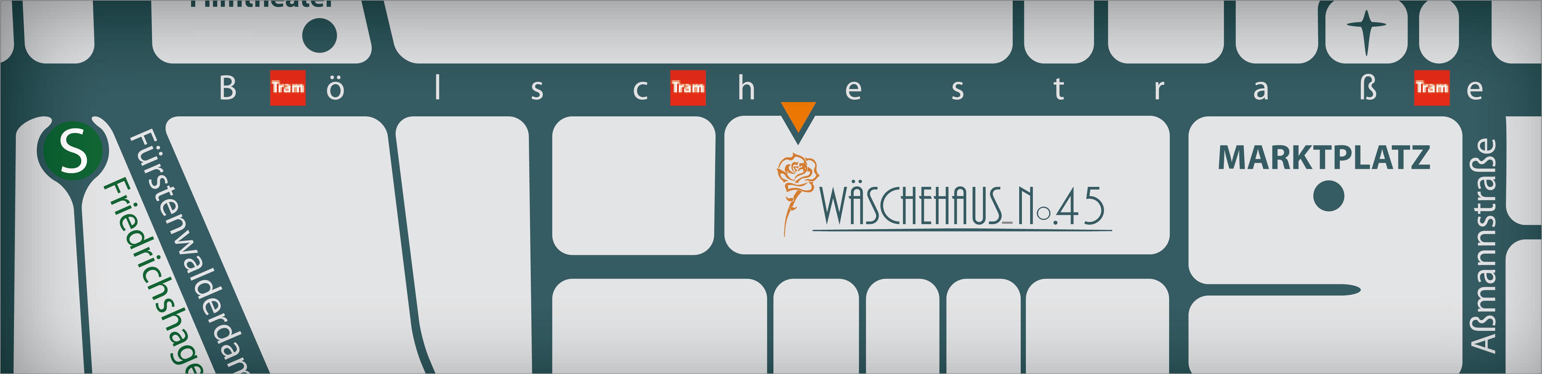 Wäschehaus 45 Lageplan Boelschestrasse 91a